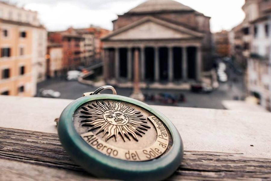 Näkymä ikkunasta © Hotel Sole al Pantheon