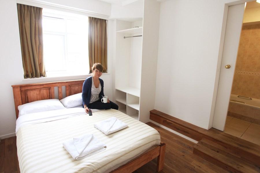 Palmers Lodge Hillspringin kahden hengen huone © Palmers Lodge Hostels