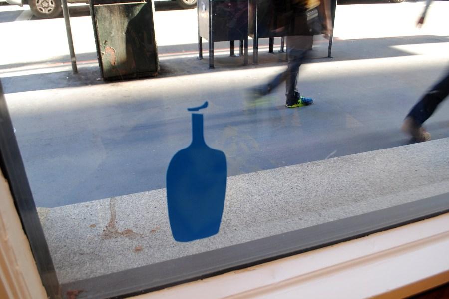 Blue Bottle -logo. © Reetta Kemppi