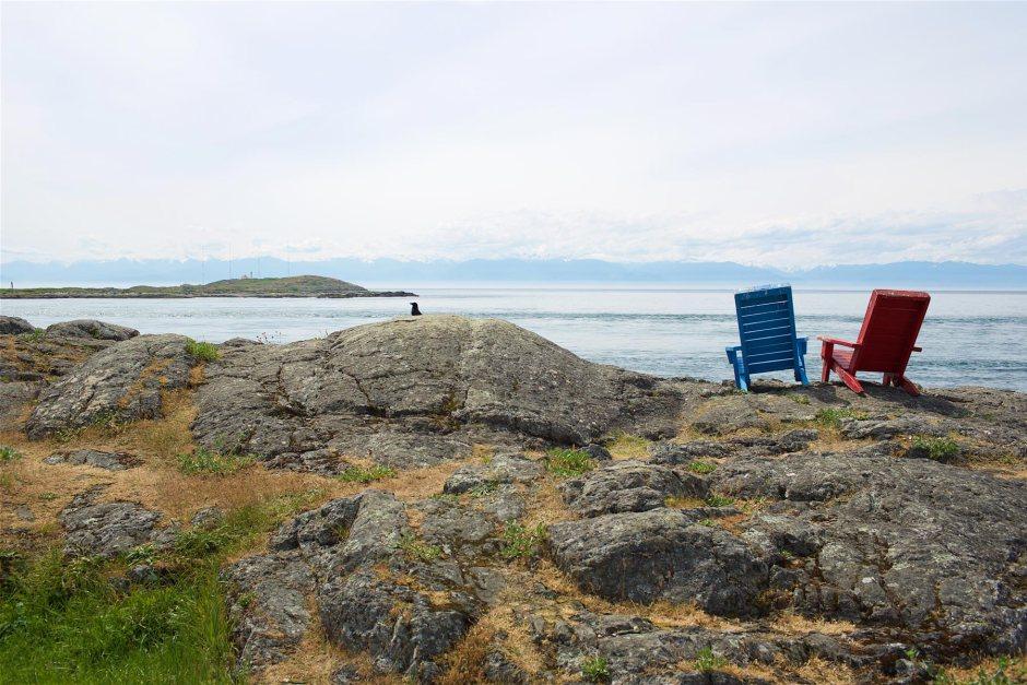 Victorian rantabulevardilta on utuiset näkymät Olympiavuorille. (c) Alex Kampion/tripsteri.fi