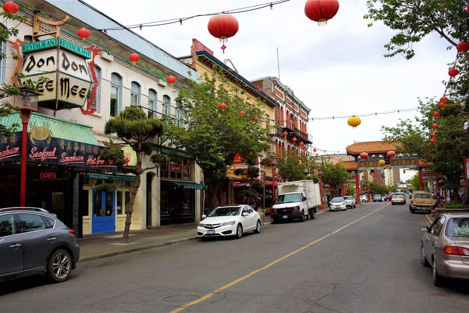 Victoriassa on Kanadan vanhin Chinatown ja hyviä aasialaisravintoloita ympäri kaupunkia. (c) Alex Kampion/tripsteri.fi