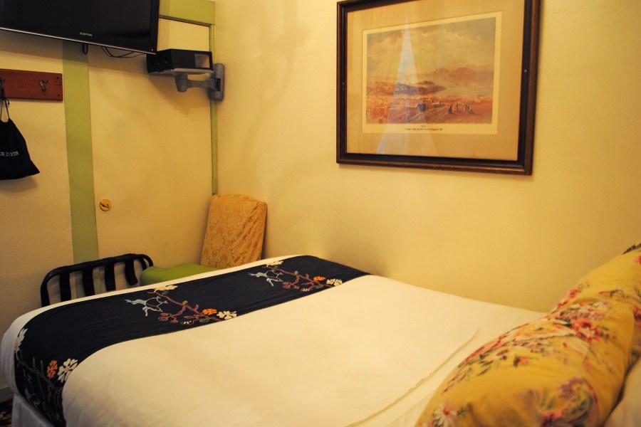 Green Tortoise Hostel, privaattihuone.