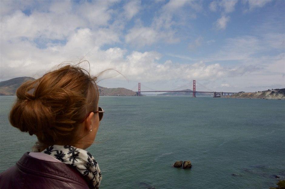 Yksi maailman kuuluisimmista silloista, San Franciscon Golden Gate. (c) Alex Kampion /tripsteri.fi