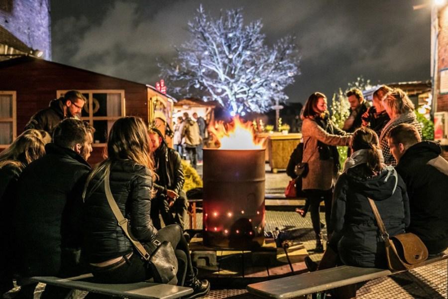 Berliinin joulumarkkinoilla – Winterdorf. Kuva: Markus Nass