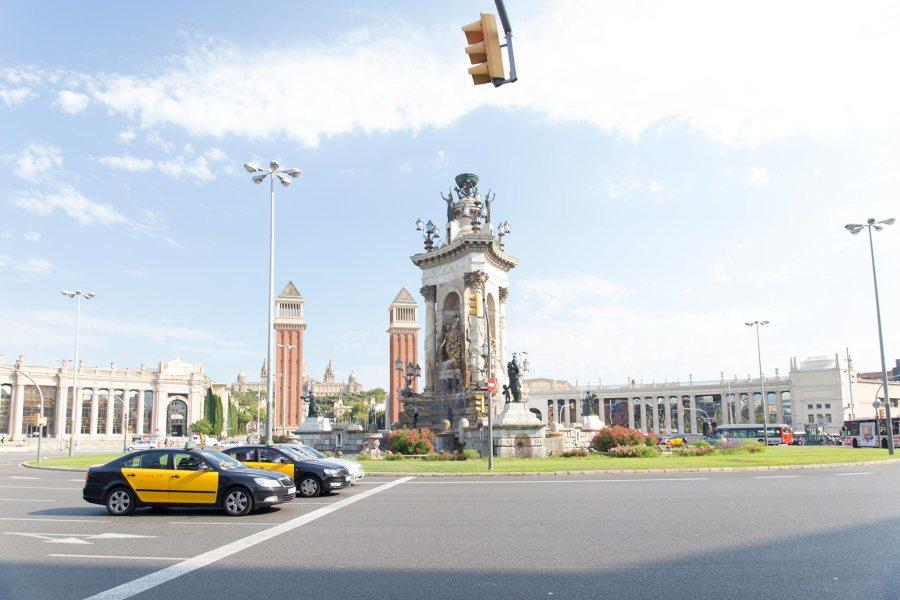 Takseja Plaça d'Espanyalla. © tripsteri.fi / Tuulia Kolehmainen