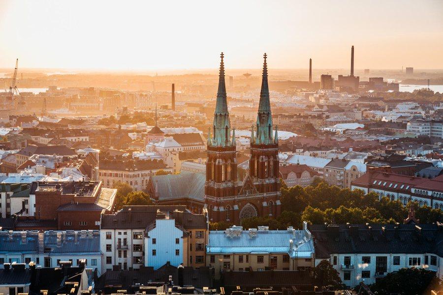 Eteläistä Helsinkiä © Jussi Hellsten, visithelsinki.fi