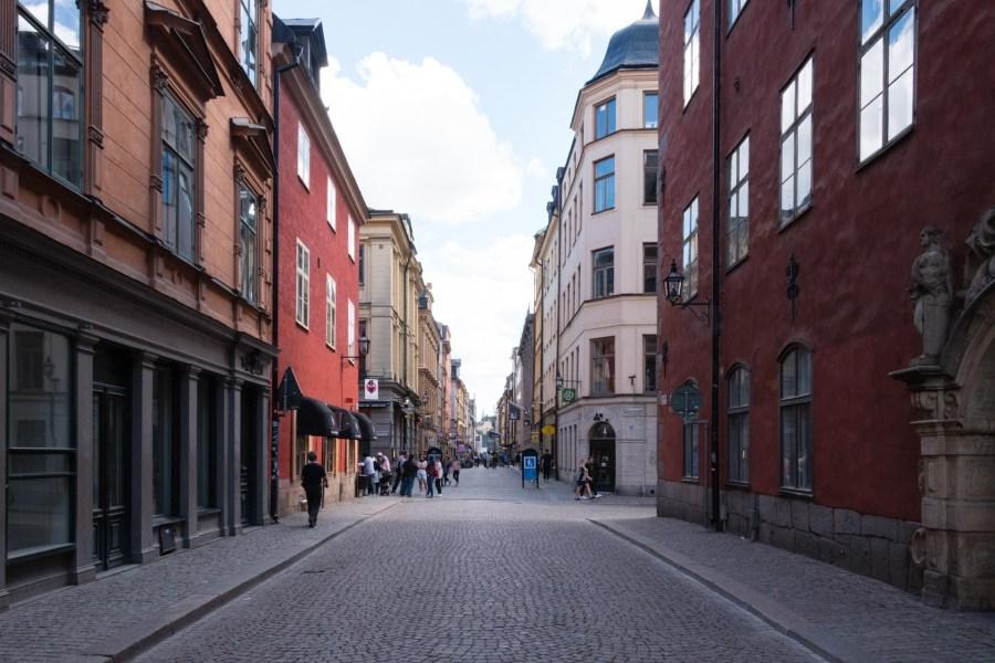 Lilla Nygatan vanhassa kaupungissa. Kuva: Soile Vauhkonen
