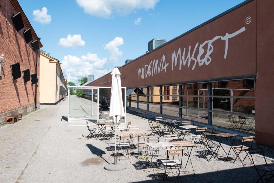 Moderna museet sijaitsee Skeppsholmenin saarella. Kuva: Soile Vauhkonen