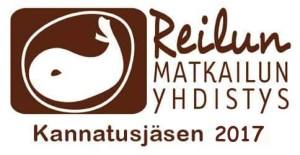 Reilun matkailun yhdistys logo