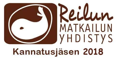 Reilun matkailun kannatusjasen- logo 2018
