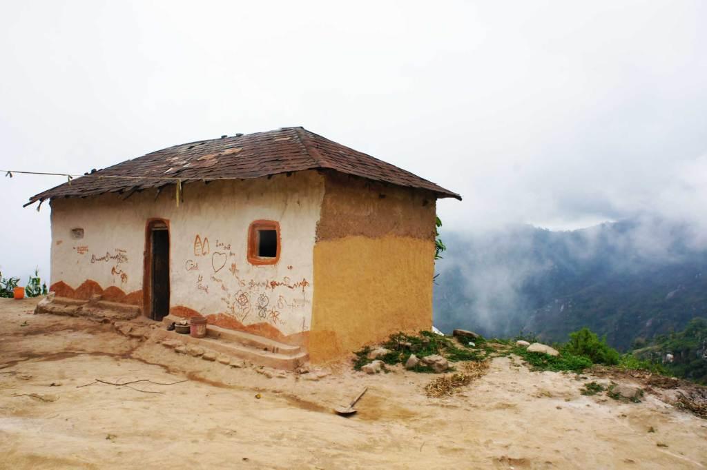 Perinteinen tansanialainen talo Usambaralla.
