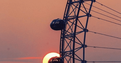 Sunset - London Eye