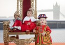 London's mini 'infantry': London babies welcome the royal baby in true regal fashion