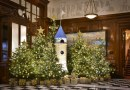 Check out The Savoy's dragon-shaped Christmas tree made out of Lego