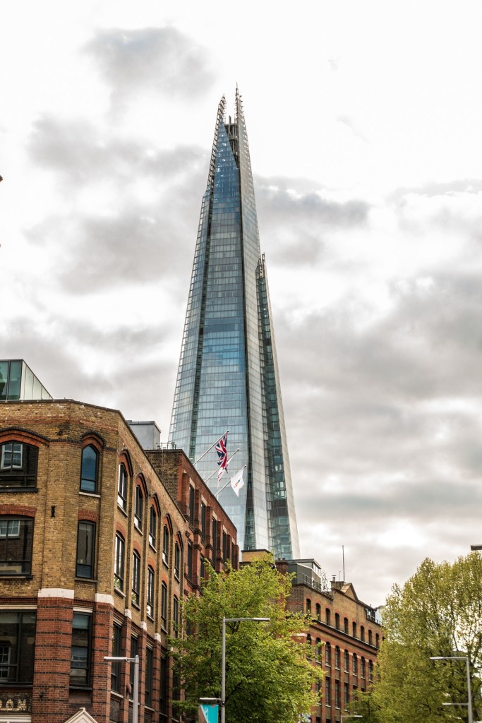 The Shard from street