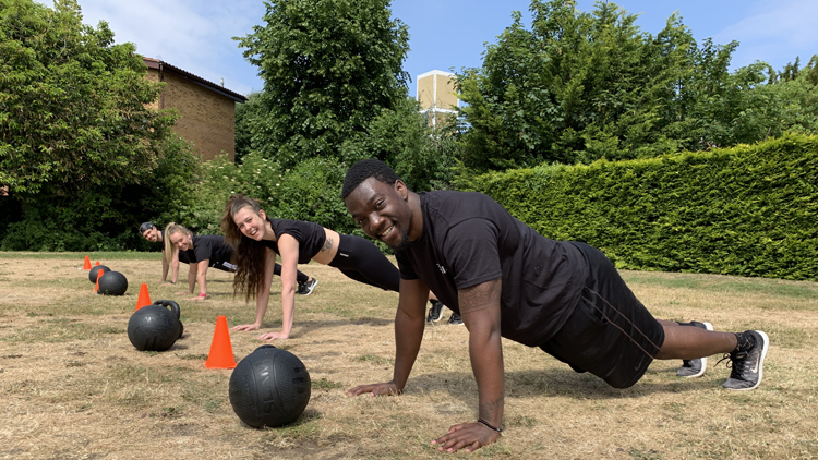 3tribes, outdoor workout, gyms in london