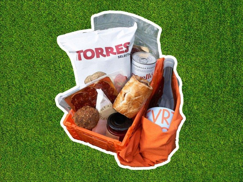Park picnic food delivery Top Cuvée