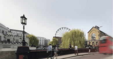A big London Eye-esque wheel could be Camden-bound
