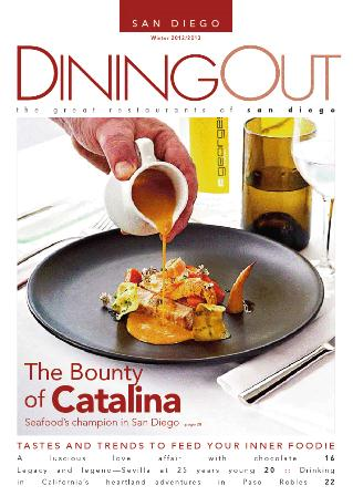 Dining Out San Diego magazine