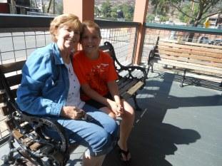caleb and grandma