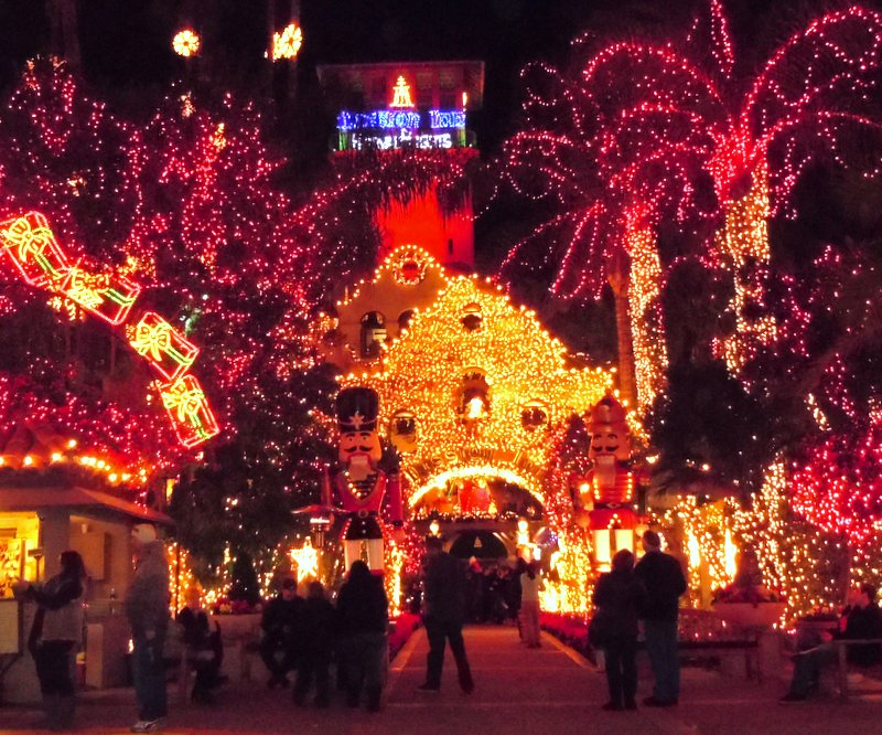 Riverside's Mission Inn Festival of Lights