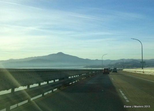 Richmond Bridge, spare tire, trip wellness