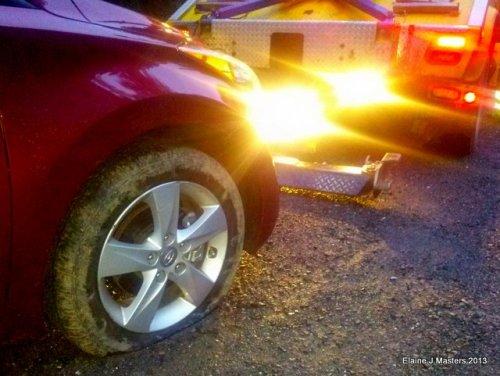 flat tire, spare tire, trip wellness