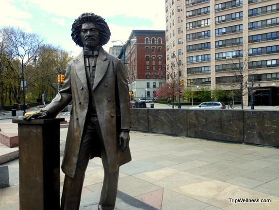 Frederick Douglas, Harlem, trip wellness, walking tours in new york