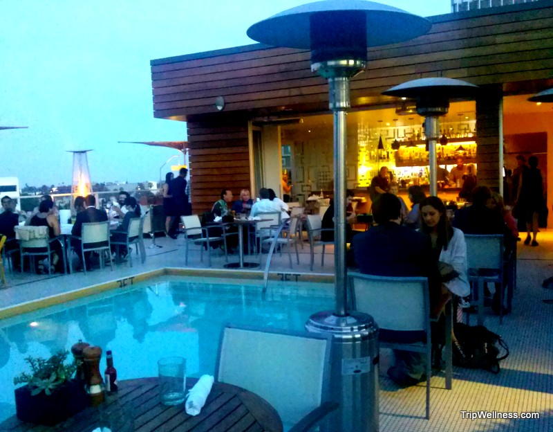 hotel wilshire, rooftop bar