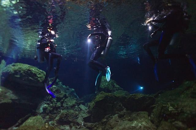 Diving Cenotes, Trip Wellness