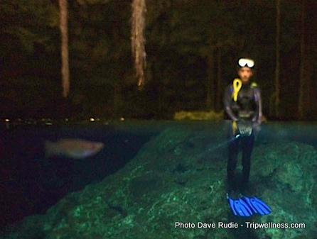 Josh Masters, Diving Cenotes, Trip Wellness