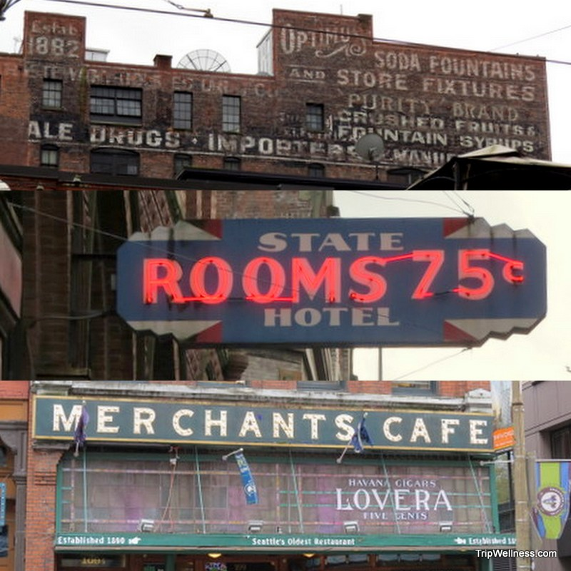 Ghost signs, What to do in Seattle, Trip Wellness