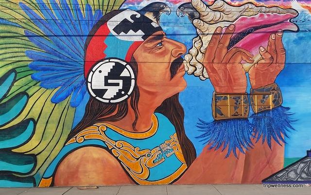 Barrio Logan mural detail