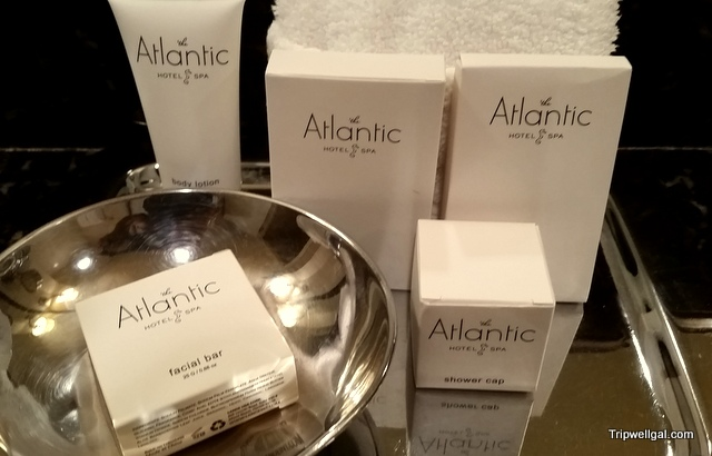 Atlantic Hotel amenities, Fort Lauderdale