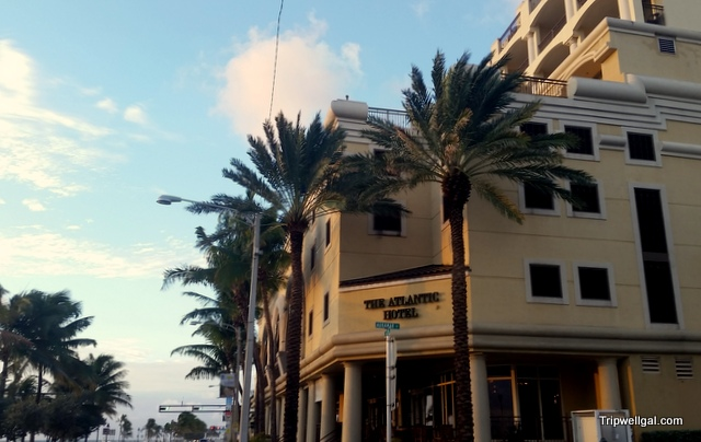 Street view Atlantic Hotel, Fort Lauderdale