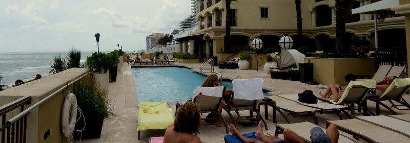Deck pool at the Atlantic Hotl Fort Lauderdale