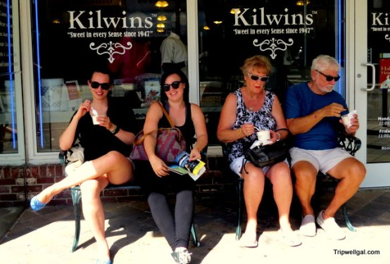 There's always room for chocolate and ice cream from Kilwins, Fort Lauderdale.