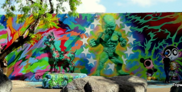 Wynwood Walls – Mural painting transforms a Miami neighborhood