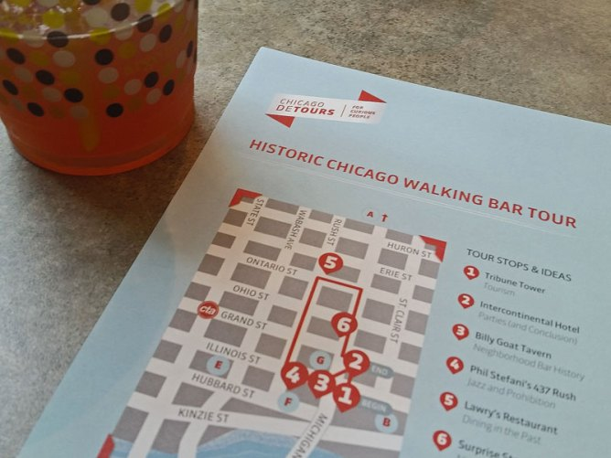 The map for our Detours historic pub crawl