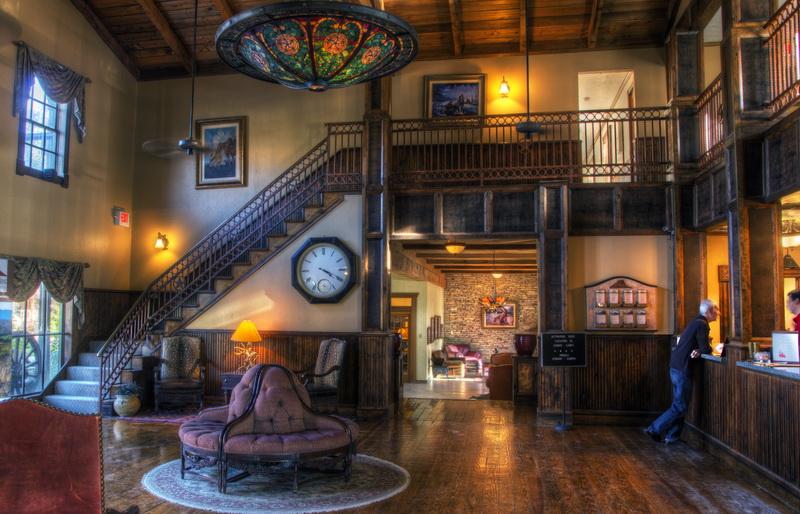Lajitas Resort - Badlands Hotel Lobby