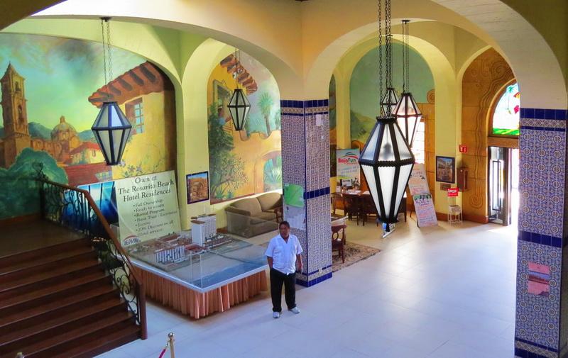 Rosarita hotel lobby
