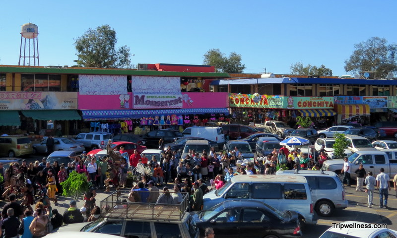 The bustling center of Mercado Hildalgo a great place to find the best food in Tijuana