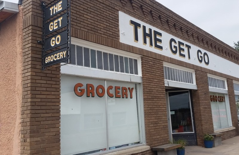 Get Go Grocery in Marfa