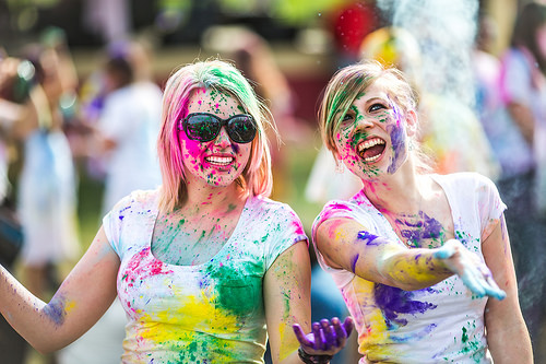 Travel safety during the holi festival in India