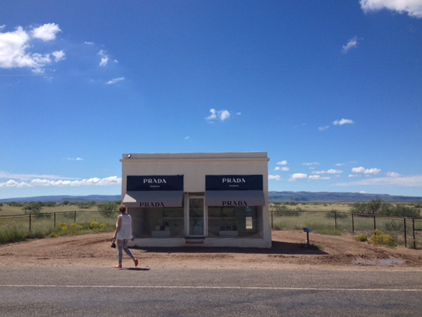 Make the Prada art building part of your road trip planner through West Texas