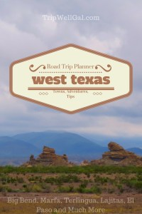 Riding through West Texas with a road trip planner