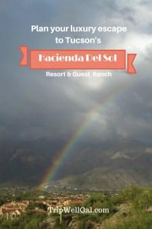 Winter getaway to a luxury resort at Hacienda Del Sol Pin