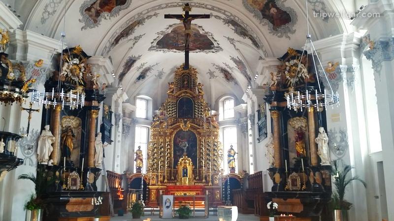 1602 Church of St. Peter and Paul in Andermatt, Switzerland