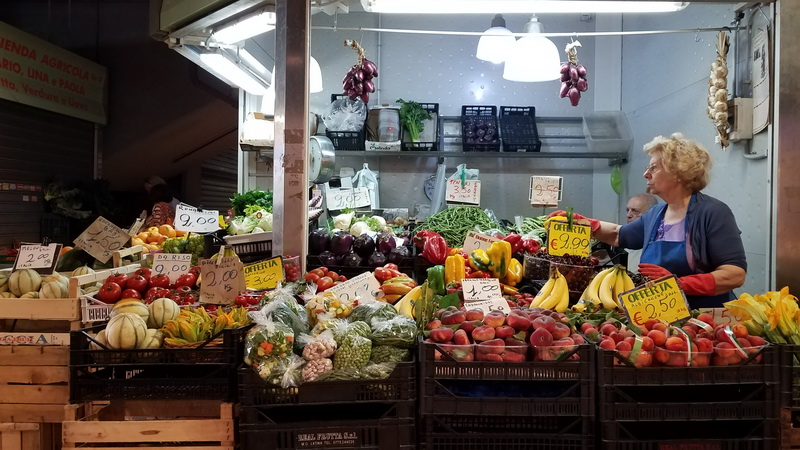 Inside the Mercato Trifonale the perfect spot to find ingredients to eat local in Rome