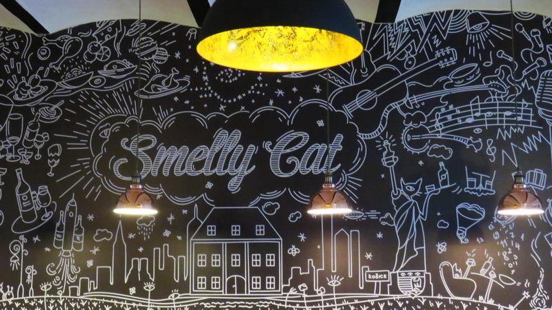 Yes, it appears that the Smelly Cat cafe was named after the coffee shop in the TV series, Friends.